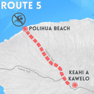 route 5 polihua beach map